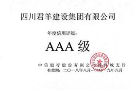 2018年中信银行信用等级3A